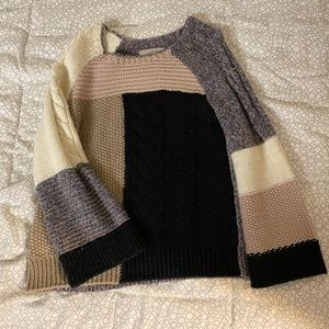 MULTICOLORED SWEATER FROM LOFT